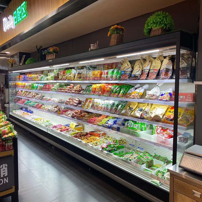 Supermarché commercial Mutideck Open Refrigeration Mutideck Open Display Cooler